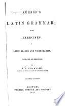 K  hner s Latin Grammar Book PDF