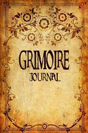 Grimoire Journal Blank Book Of Shadows