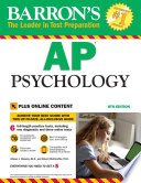 """Barron's AP Psychology with Online Tests"" by Robert McEntarffer, Allyson J. Weseley"