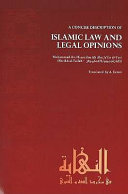 Concise Description of Islamic Law and Legal Opinions ebook