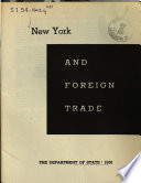New York and Foreign Trade