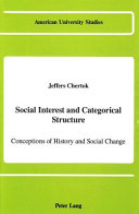 Social Interest and Categorical Structure