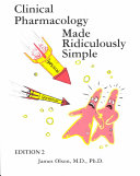 Clinical Pharmacology Made Ridiculously Simple Book PDF