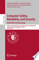 Computer Safety, Reliability, and Security. SAFECOMP 2020 Workshops