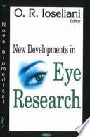 New Developments in Eye Research Book