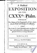 A Practical Exposition on the 130th Psalm     By John Owen  With the Text and a Paraphrase