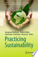Practicing Sustainability Book