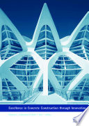 Excellence In Concrete Construction Through Innovation Book PDF