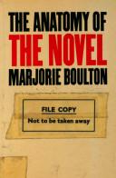 The Anatomy of the Novel