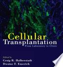 Cellular Transplantation