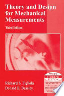 THEORY AND DESIGN FOR MECHANICAL MEASUREMENTS, 3RD ED (With CD )