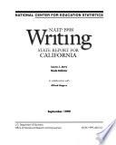 NAEP     Writing Report for California