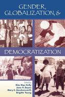 Pdf Gender, Globalization, and Democratization