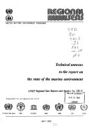 Technical Annexes To The Report On The State Of The Marine Environment Book PDF