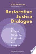 Restorative Justice Dialogue
