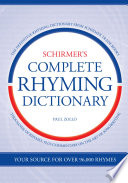 Schirmer's Complete Rhyming Dictionary