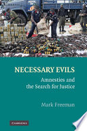 Necessary Evils Book