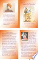 RKM Propagating the Opposite of What Vivekananda and Ramakrishna Had Said