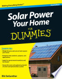 """""""Solar Power Your Home For Dummies"""" by Rik DeGunther"""