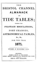 The Bristol Channel Almanack and Tide Tables