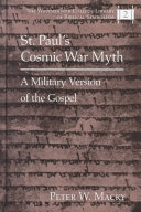 St  Paul s Cosmic War Myth Book PDF