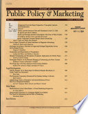 Journal of Public Policy & Marketing : JPP&M