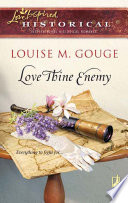 Love Thine Enemy  Mills   Boon Historical