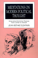 Meditations on Modern Political Thought