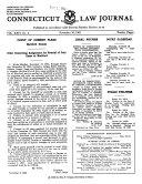 Connecticut Law Journal