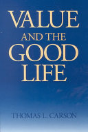 Value and the Good Life Book