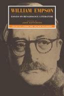 William Empson  Essays on Renaissance Literature  Volume 1  Donne and the New Philosophy