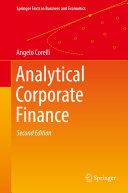 Analytical Corporate Finance [Pdf/ePub] eBook