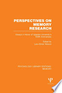 Perspectives on Memory Research (PLE:Memory)