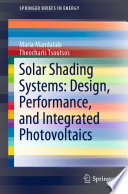 Solar Shading Systems  Design  Performance  and Integrated Photovoltaics