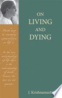 On Living and Dying Book