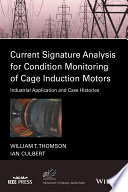 Current Signature Analysis for Condition Monitoring of Cage Induction Motors  : Industrial Application and Case Histories