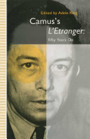 Pdf Camus's L'Etranger: Fifty Years on Telecharger