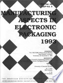 Manufacturing Aspects in Electronic Packaging