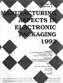 Manufacturing Aspects in Electronic Packaging 1993