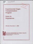 Experimental Organ Transplantation Program