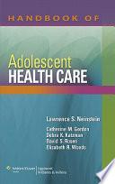 Handbook of Adolescent Health Care Book