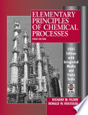 Elementary Principles of Chemical Processes, 3rd Update Edition