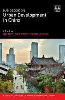 Handbook on Urban Development in China