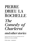 The Comedy of Charleroi, and Other Stories