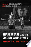 Shakespeare and the Second World War Book