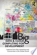 Big Data and Cloud Computing for Development Book