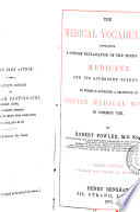 The medical vocabulary Book