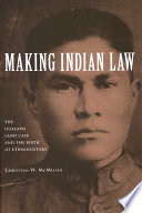 Making Indian Law  : The Hualapai Land Case and the Birth of Ethnohistory