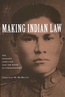 Making Indian Law