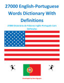 27000 English-Portuguese Words Dictionary With Definitions